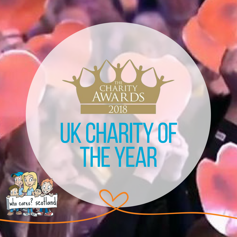Who Cares? Scotland Wins UK Charity of the Year