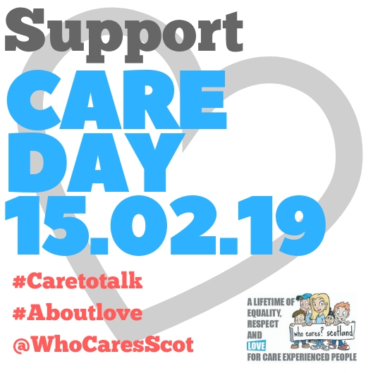 Buildings across Scotland will be lighting up with love on Care Day 2019