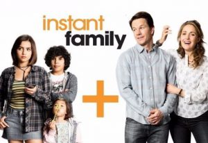 Image of the cast from the movie Instant Family, a movie about Care Experienced people