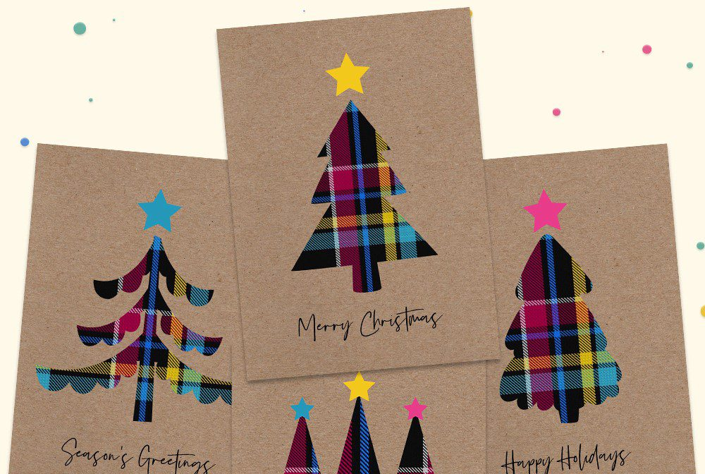 Vibrant range of Christmas cards and prints, designed to celebrate Care Experienced people