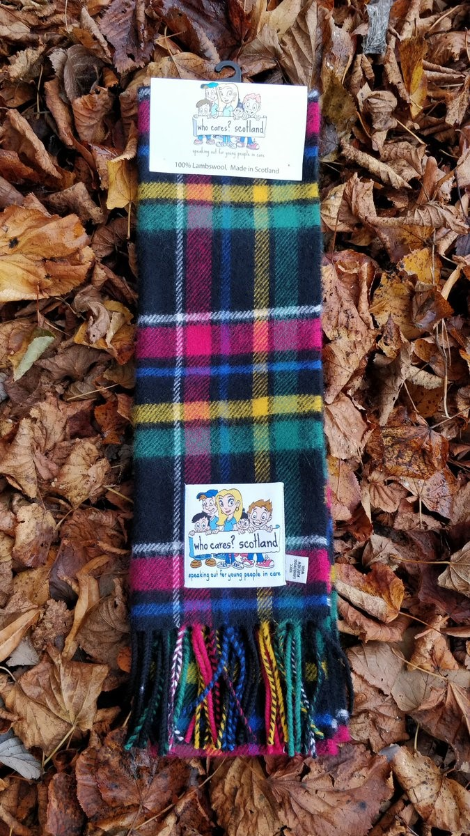Comment on Jeremy Corbyn wearing Who Cares? Scotland's tartan scarf