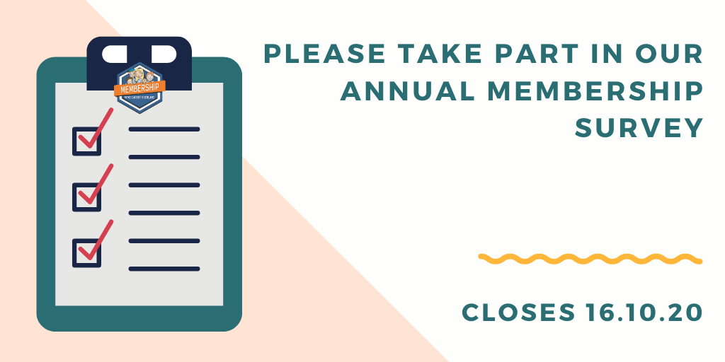 Our 2020 Membership Survey is Now Live!