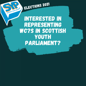 Scottish Youth Parliament Elections 2021!